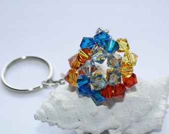 Keychains, bag charms, bag, accessories, length 10 cm