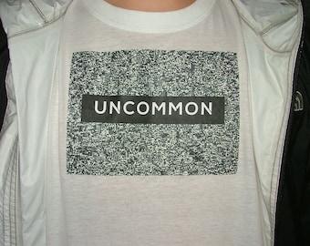 black n white uncommon t