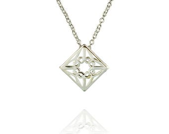 Lao Necklace - Sterling Silver