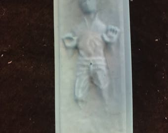 Han solo in carbonite, Han Solo, Star Wars, Star Wars soap, Han Solo in carbonite soap, Han Solo soap, gifts for him, gifts for her, novelty