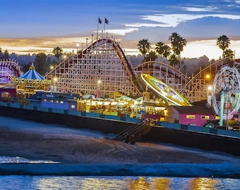 Santa Cruz Beach Boardwalk, California
