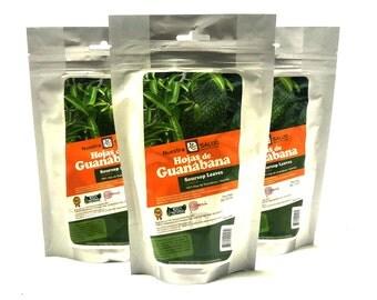 Soursop Leaves - Hojas de Guanabana Herbal Tea Value Pack