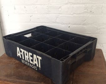 Vintage A-Treat Soda Crate