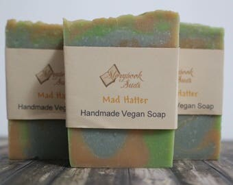 Mad Hatter Cold Process Vegan Soap