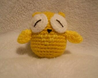 Crochet Owl, Small, Handmade