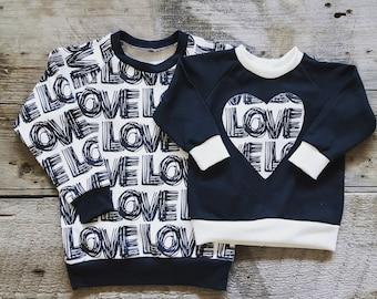 Heart Sweatshirts