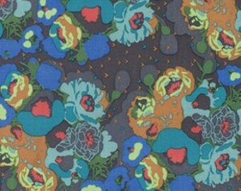 Peonies in Swamp - Anna Maria Horner Mod Corsage - cotton fabric