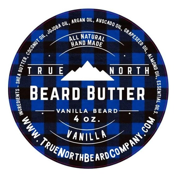 true north beard butter vanilla beard 4 oz all. Black Bedroom Furniture Sets. Home Design Ideas