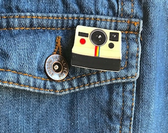 Polaroid camera pin instagram pin photography love mothers day gift holiday gift