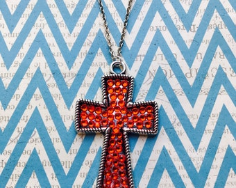Handcrafted Red Cross