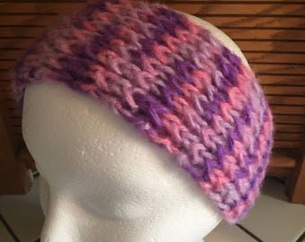 Pink & Purple Explosion Headband