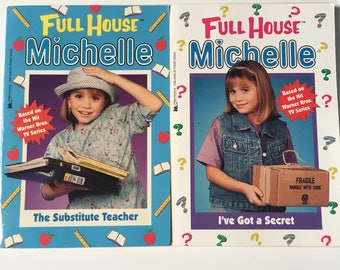 90's Full House Michelle Tanner TV show book tie-ins Fuller House chapter books The Olsen Twins