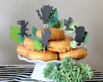 Wild Thing Cupcake Toppers