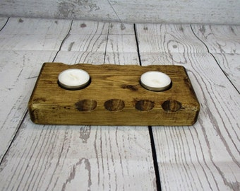 Wooden candle holder - tealight  - mothers day - wooden tealight holder - tealight holder - candle - wedding present -  Anniversary