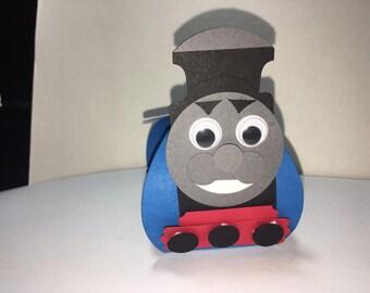 Thomas the train, treat boxes, birthday favors, Thomas the train favors 10ct