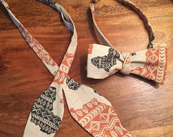 African Continent Bow