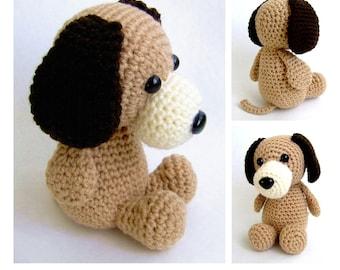 Cute & Cuddly Puppy amigurumi crochet pattern PDF