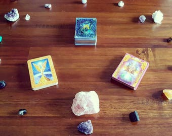 Angel Tarot and Oracle card reading