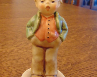 Hummel Figurine of Erster Tenor Steadfast Soprano (free shipping)