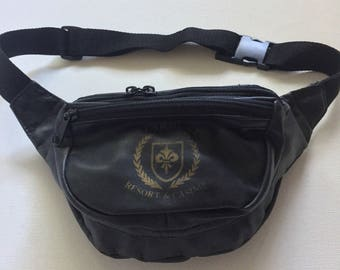 Fanny pack vintage 80's black 'Stardust resort and Casino'