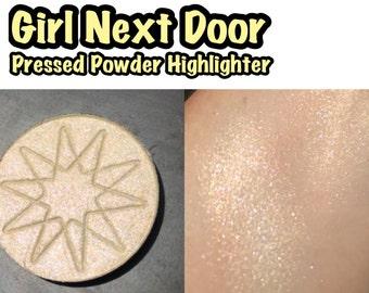 Girl Next Door - Pressed Powder Highlighter / Eyeshadow - 36mm PAN