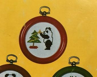 Christmas Pandamonium counted cross stitch designs
