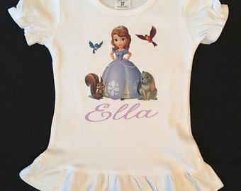 Sofia the first shirt