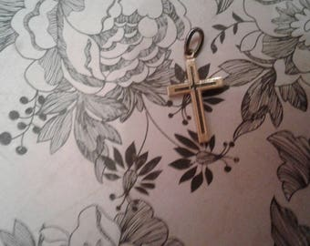 1/20 12K Gold Filled Vintage Cross