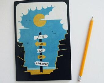 Adventure A5 Notebook