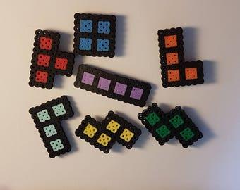 Tetris Magnets x 7