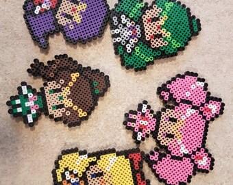 Sailor Moon magnets/ perler/ keychain