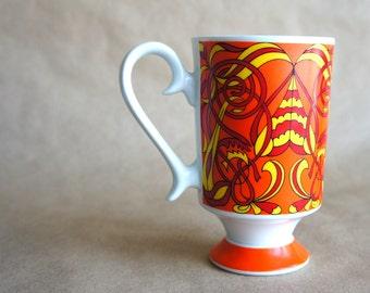 Rare Mid Mod Smug Mugs Royal Crown Arnart Tomorrow by Kitty