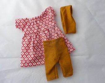 "Doll clothes, for dolls size 12"" - 14"""