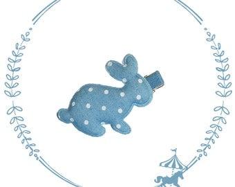 Barrette child baby rabbit - anti-slip Strip