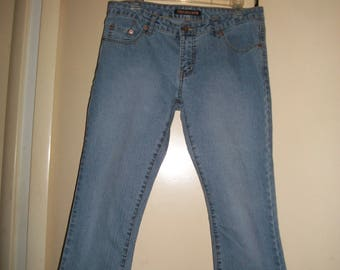 Womens Vintage Pepe Jeans UK Capris, Cropped Jeans Size 32