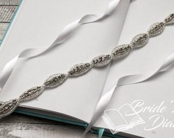 Wedding hair jewelry, classic rhinestones bridal hairband, bridal rhinestones headband