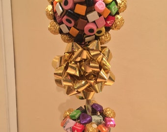 Candy & Ferrero Rocher Tree