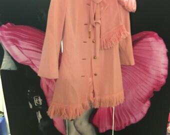 Lilli Ann Pink Coat