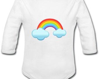 My little Rainbow - rainbow - long or short sleeve onesie