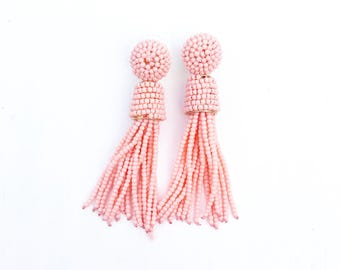 Feel Good earrings - Salmon