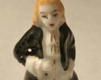 Victorian Gentleman ~ Victorian miniature ~ miniature ~ China ~ Hand Painted ~ Occupied Japan