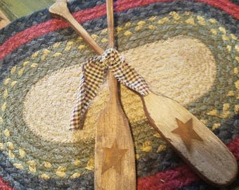 Primitive Paddles with star