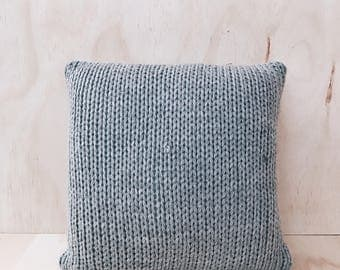 Braided Grey Cushion Cover - Scandinavian Nordic Pillow Cover