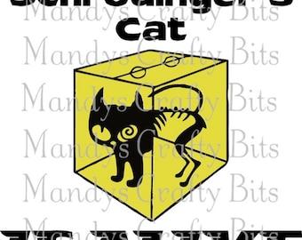 SVG Sheldon Schrodingers cat T shirt design