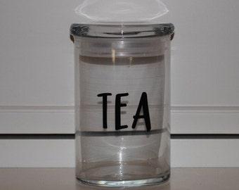 31 ounce Glass Jar 'Tea'