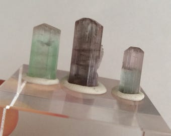 20.95 ct multi colored tourmaline parcel from Kunar,Afghanistan (107)