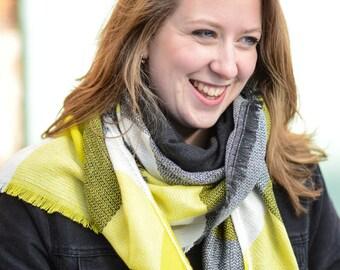Blanket scarf, plaid blanket scarf, tartan plaid blanket scarf, oversized scarf