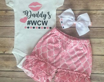 Daddys girl, baby - #wcw