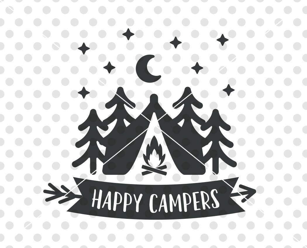 Happy Camper Clipart