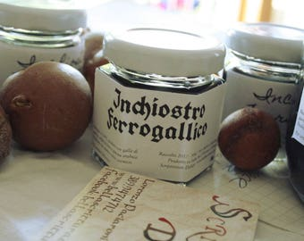 Iron gall ink, 100% natural, organic, handmade